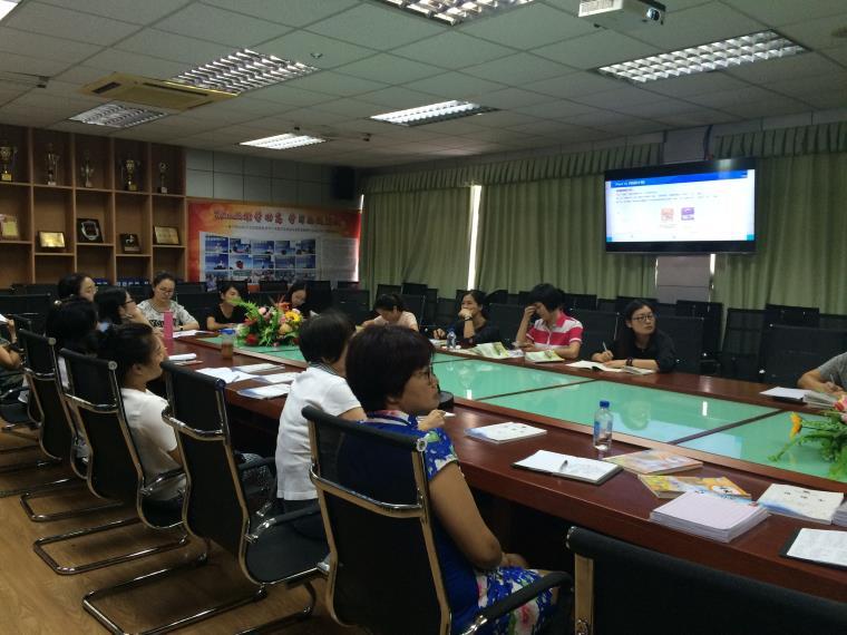 红桂小学语文科组进行一起阅读平台v小学南宁越秀路小学图片