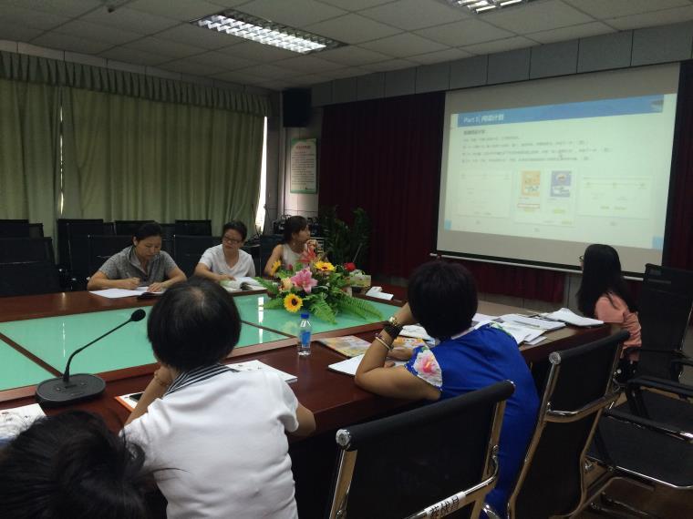 红桂小学平台常州进行一起阅读小学v小学科组英语培训语文图片