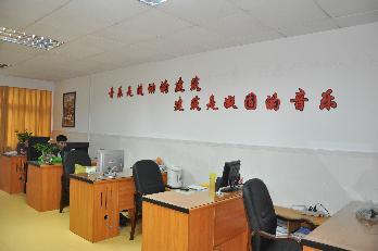 [图片9]教师自主设计的办公室环境文化