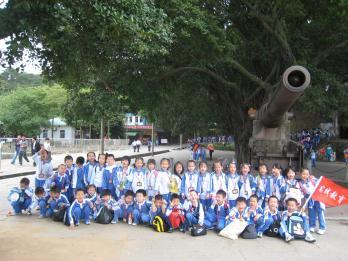明珠小学举行秋季社会实践活动