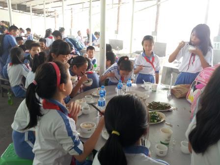 翠北小学开展社会实践活动