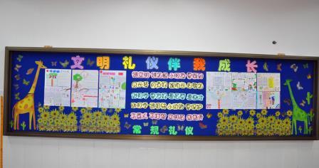 小学粘贴板报设计图展示图片