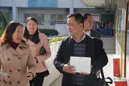 锦田小学迎来福建厦门双十中学沧海附属学校客人参观