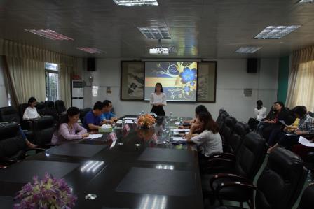 翠园中学初中部打造青年班主任学习和成长的平台图片